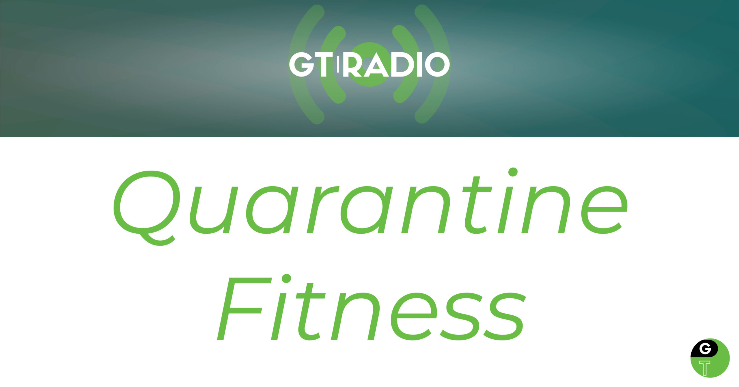 Geek Therapy Quarantine Fitness